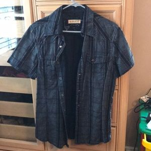 Other - Guess  button down shirt dark blue